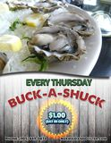 Buck-a-Shuck Thursdays at Mermaid & the Oyster!