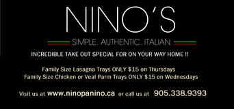Nino's Take Out Special