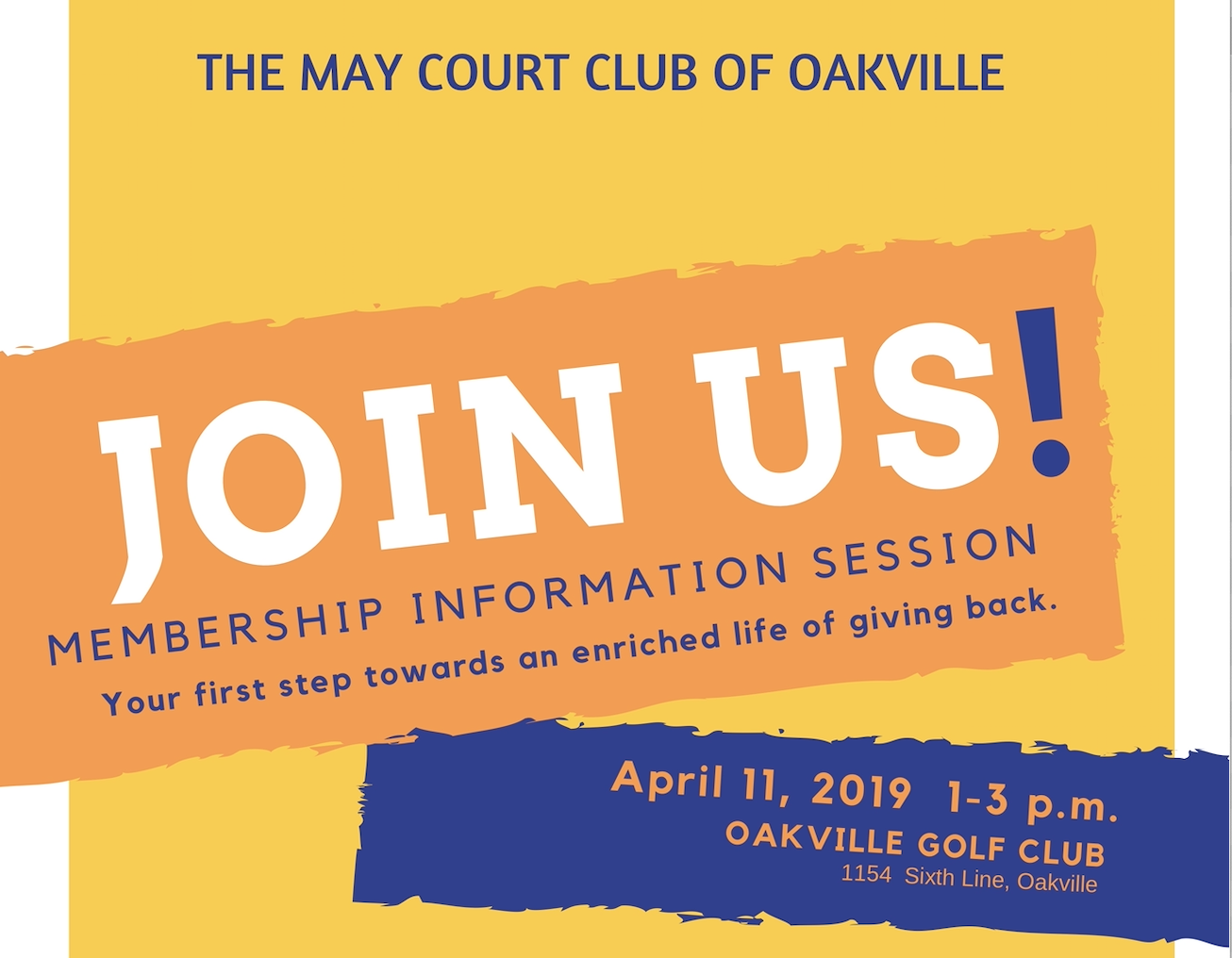 May Court Club of Oakville Membership Informaiton Session