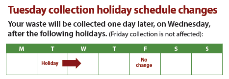 Victoria Day Collection Schedule Kerr Village BIA
